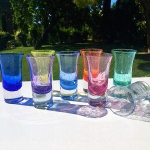 pastis verre bullé biot verrerie farinelli
