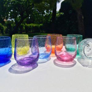 punch verre bullé biot verrerie farinelli