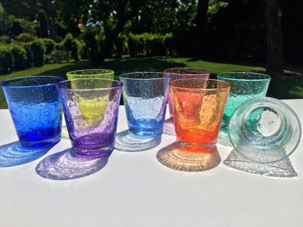 soda verre bullé biot verrerie farinelli